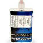 Klej Poliuretanowy dwuskładnikowy do aluminium  Unipur Duo 550 ml - Opowiednik Cosmofen Duo